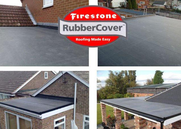 Garage Rubber Flat Roofing Wirral Liverpool Roofers